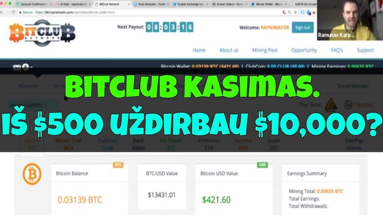bitcoin investicij pasitikjimas