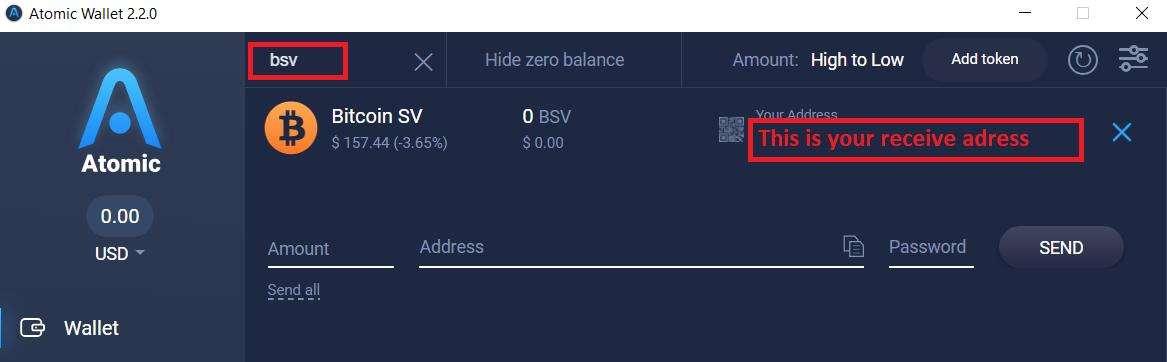 Gauti bitcoin sv