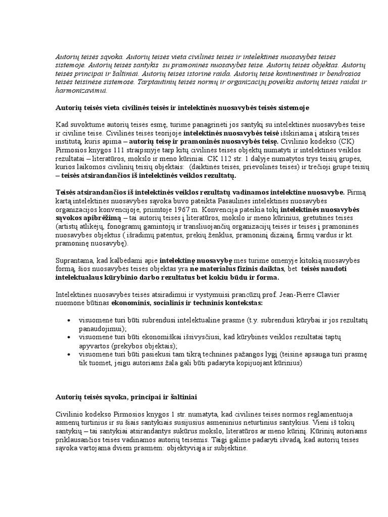 nuosavybės teise priklausančios prekybos sistemos apibrėžimas