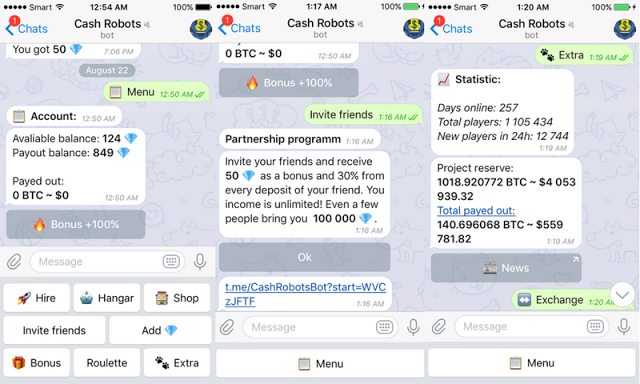 Bitcoin free bot telegrama