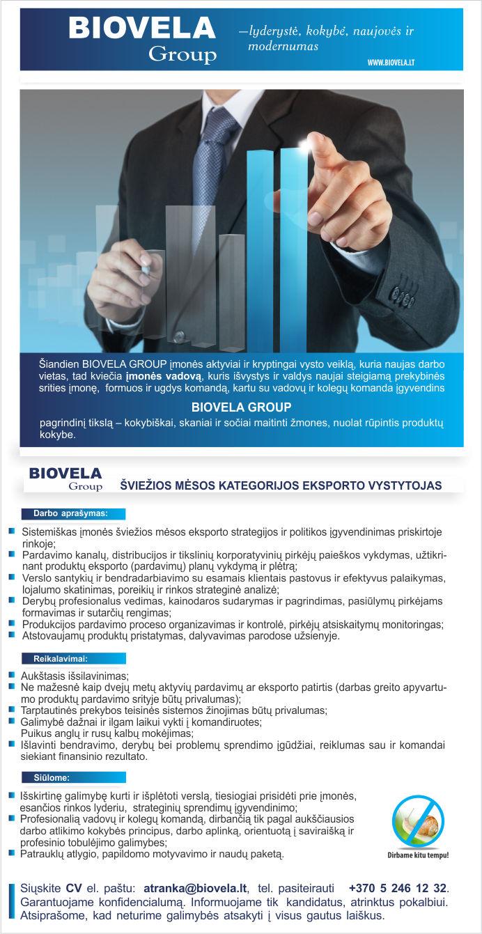 Eksporto strategija | Ekonomikos ir inovacijų ministerija